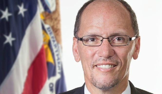 Democrats on Saturday chose Tom Perez to lead the party, sparking criticism from progressive organizations who say picking the former labor secretary over the other front-runner, Rep.