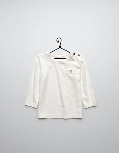 t-shirt with pocket - T-shirts - Baby boy (3-36 months) - Kids - ZARA Canada: Pockets 7 90, 7 90 Zara, 790 Zara, Zara Canada, Baby Boys, Zara 495, Zara United States, Kid, Pockets 790