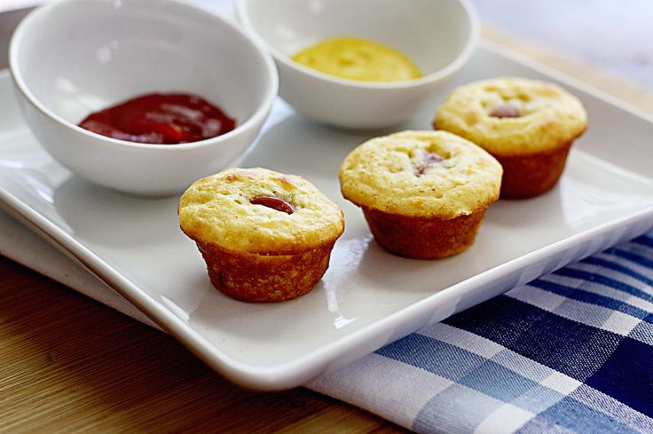 Healthy Mini Corn Dog Muffins | Recipe