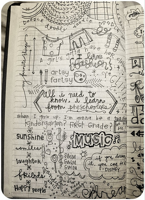Pretty much how my mind functions.. It will be interesting to see it on paper.