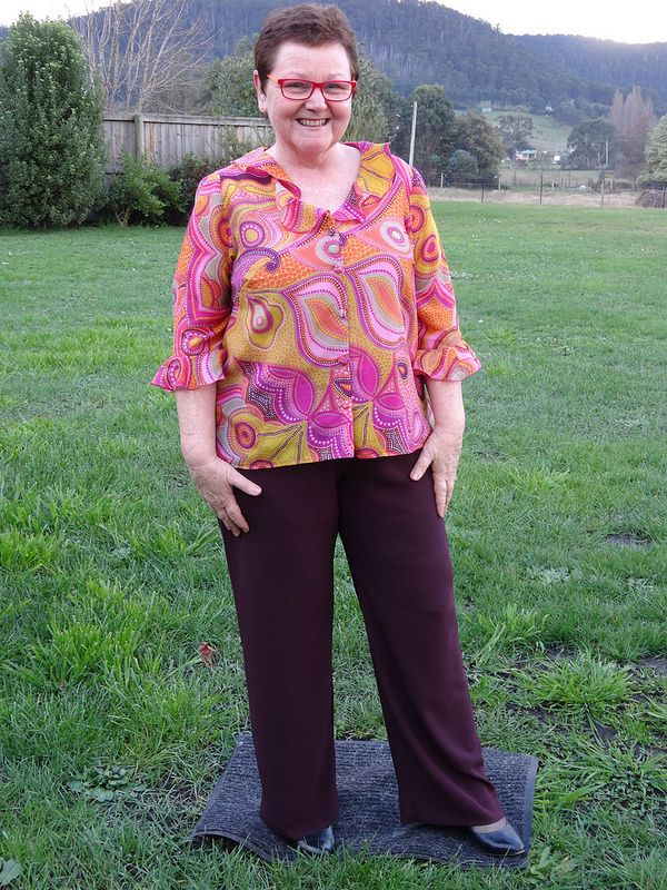 StyleArc Leah Lounge Pant and Kwik Sew 2927