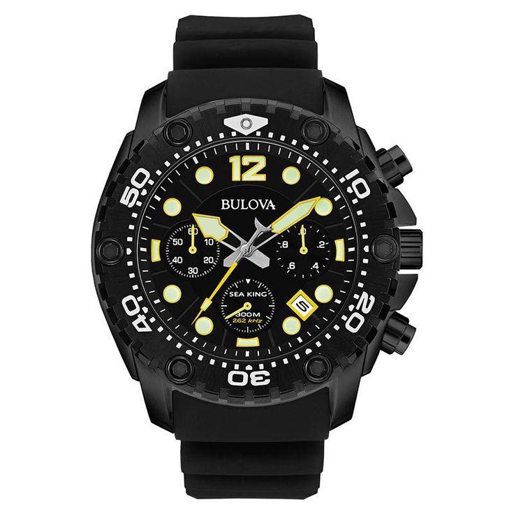 Bulova Sea King UHF Mens Watch 98B243 #Bulova #Watch #BulovaWatch #MensWatch #SeaKing #Watch
