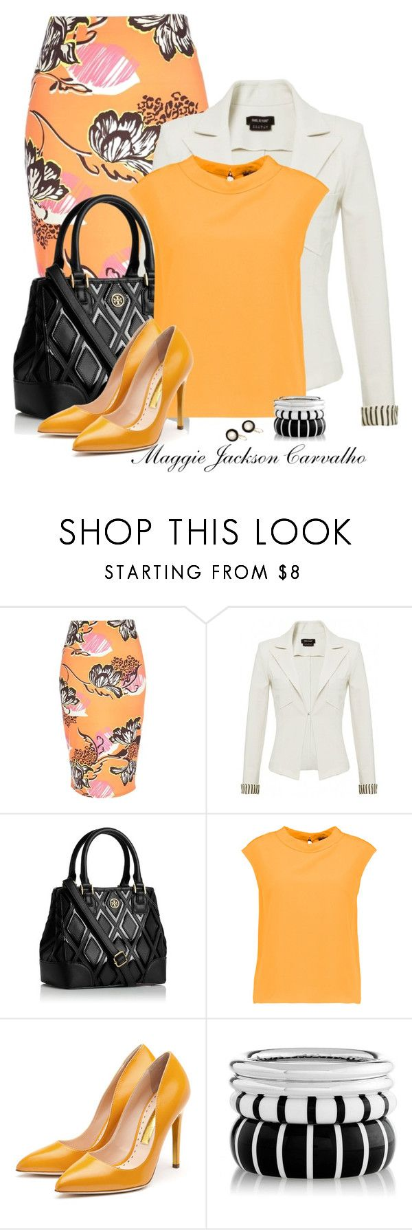 """"""" SPRING FEVER: Colorful Pumps """" by maggie-jackson-carvalho on Polyvore featuring River Island, Isabel de Pedro, Tory Burch, Raoul, Rupert Sanderson and Wallis"""