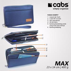 Dompet hpo tab wanita pria Multifungsi branded unik Cabs Max by Cabs Pocket