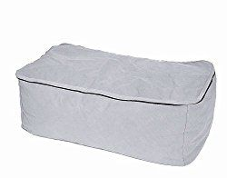 Protective Covers Large Storage Bag for Chair Cushions, Gray