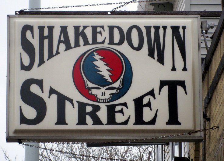 Don't tell me this town ain't got no heart... ::: Shakedown Street ::: Grateful Dead