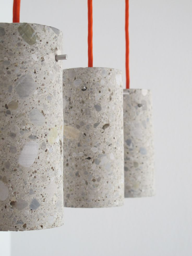 Concrete Lamp; Concrete Pendant Light; Concrete Lamp Shade