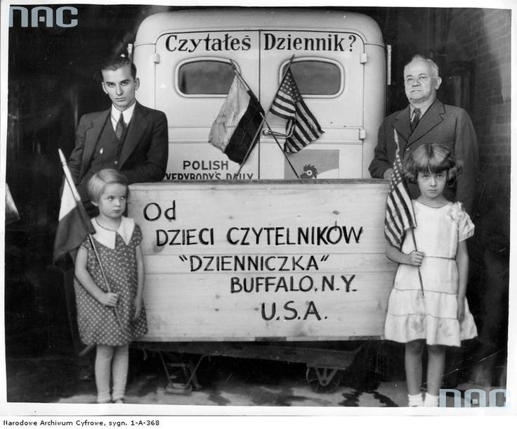 Dzieci polskie z Bufallo, Kraków, 1935