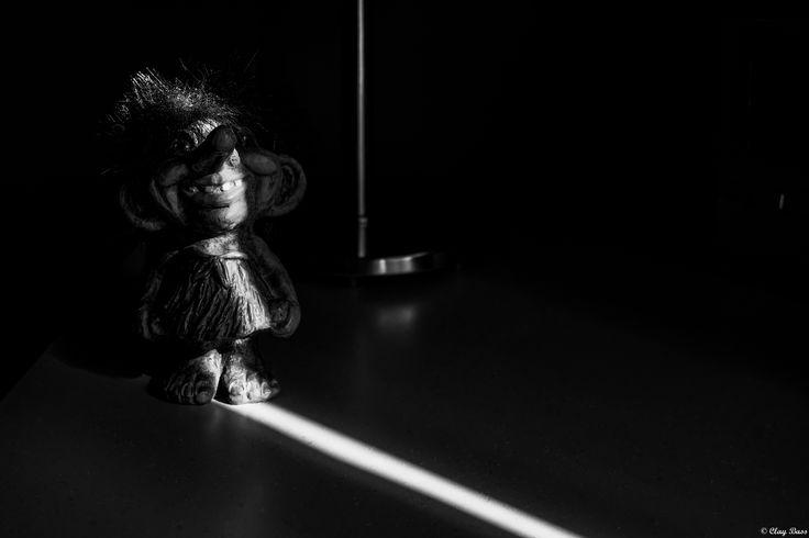 un simpatico troll sul mio comodino - è lui che mi accompagna nei sogni notturni...