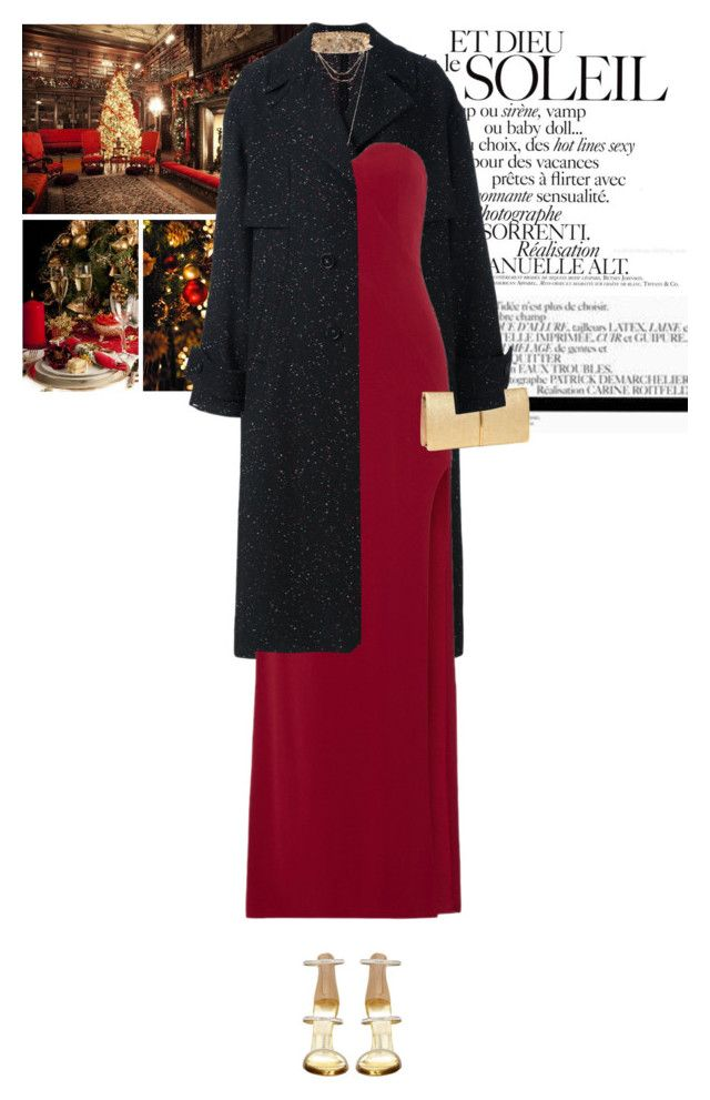 """It's the most wonderful time of the year, with the kids jingle-belling, and everyone telling you be of good cheer. It's the most wonderful time of the year, it's the happiest season of all, with those holiday greetings and great happy meetings."" by vicky-carter ❤ liked on Polyvore featuring Biltmore, STELLA McCARTNEY, Halston Heritage, Wet Seal, Lanvin and Nina Ricci"