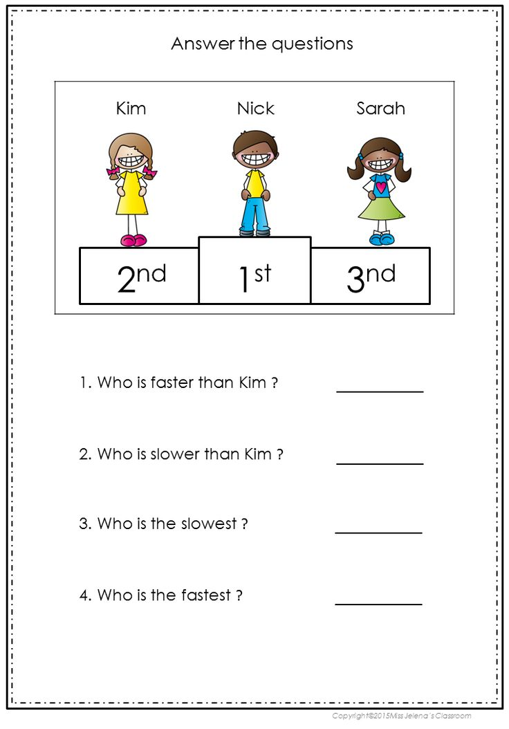 Comparison Of Adjectives My Tpt Products Pinterest