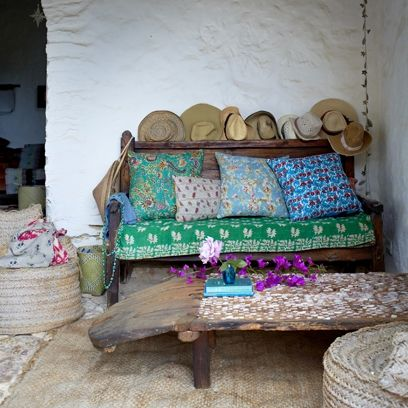 transform your home with just cushions and throws