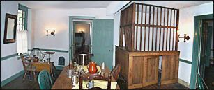 If you've wonder what the caged bar at Lisette's CoffeeHouse would have looked like, here is an example from the 250-year-old Indian Head Tavern in Haddonfield, N.J.