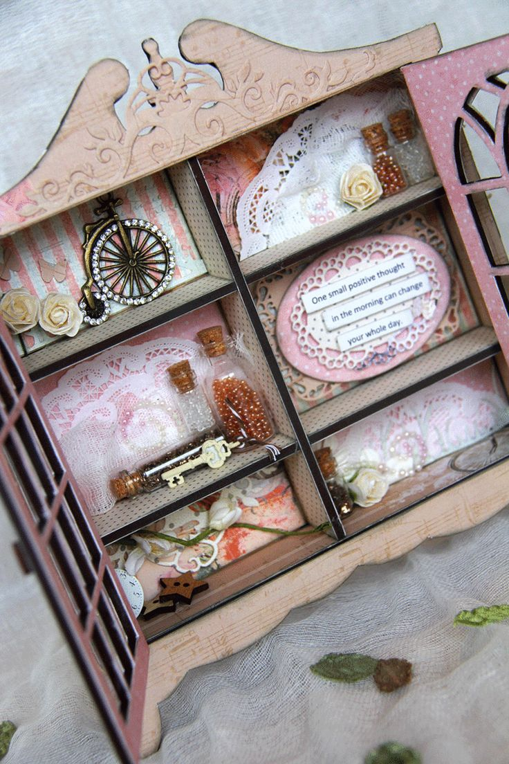 Playing with Scrapmatts Memory Cabinet and Prima - Living my dream