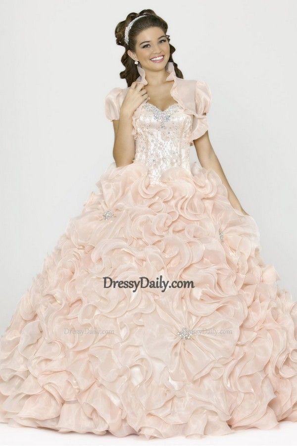 131 besten Quinceanera Dress Bilder auf Pinterest | Ballkleider ...