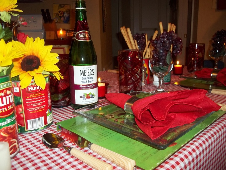 Caribbean Rehearsal Dinner Theme: Best 25+ Italian Table Decorations Ideas On Pinterest