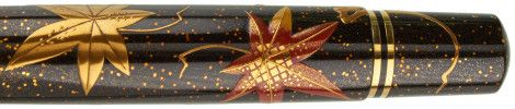 Pelikan Limited Edition M1000 Maki-e Ginko and Maple Fountain Pen Only $6000.00