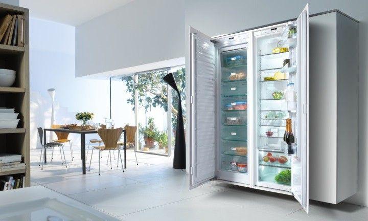 Aeg Lodowka Side By Side Do Zabudowy Sklep 12 Tys 7180429954 Oficjalne Archiwum Allegro Integrated Fridge Interior Design Living Room Miele Kitchen