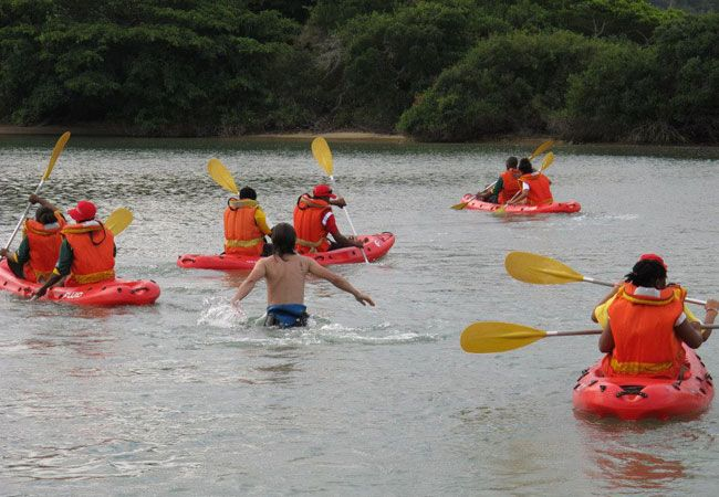 Kleinemonde West River Canoe Trail in Port Alfred #funandlaughter #kleinemondeproperties #harcourts #buyingandselling #easterncape