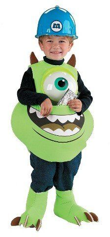 Disney Monsters Inc. Mike Candy Catcher Kids' Costumel