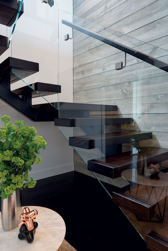 Concrete, plasterboard, timber and glass – the full extent of the material palette for this home.