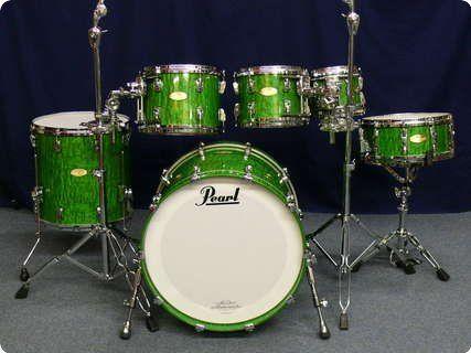 Pearl / Masterworks Artisan / 2012 / Green Tamo High Gloss / Drum / Percussion