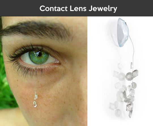 WTF Contact Lens Jewelry