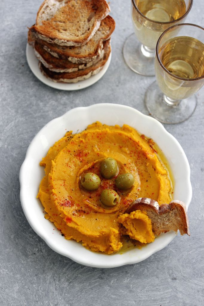 <Carte de Cuisine>カボチャのフムス 写真2枚 マリ・クレール スタイル : marie claire style