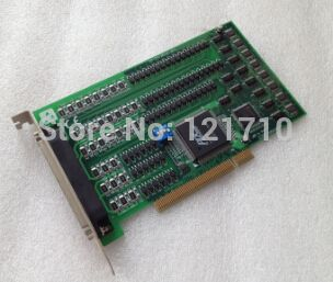 Industrial equipments board PCI-1754 REV.A1 01-1 64-ch Isolated Digital Input PCI Card #Affiliate