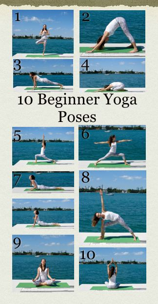 10 Beginner Yoga poses that anyone can do. Learning the foundational poses on your own will give you the confidence you need to begin practicing yoga in a group setting. These are 10 of the most frequent poses that you will encounter throughout your beginner yoga flows! Enjoy and namaste!