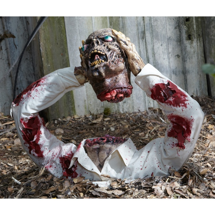 this would look cool in my new raised graves zombie halloween decorationsscary - Bloody Halloween Decorations
