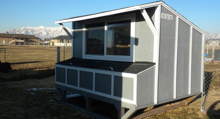 19 chicken coop plans designs http www for Simple chicken coop plans for 6 chickens