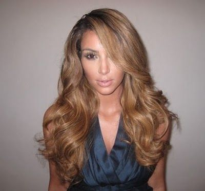 Kim Kardashian Blonde Hair Love It