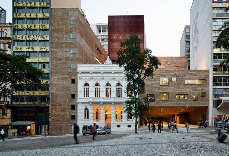 Imagem 1 de 30 da galeria de Praça das Artes  / Brasil Arquitetura. Fotografia de Nelson Kon
