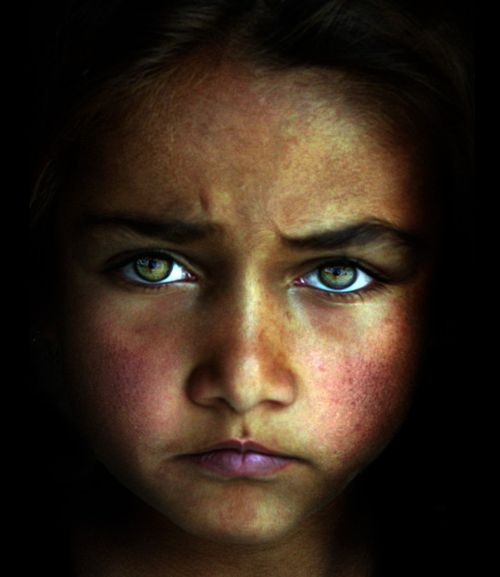 Afghan orphan #portrait #photography