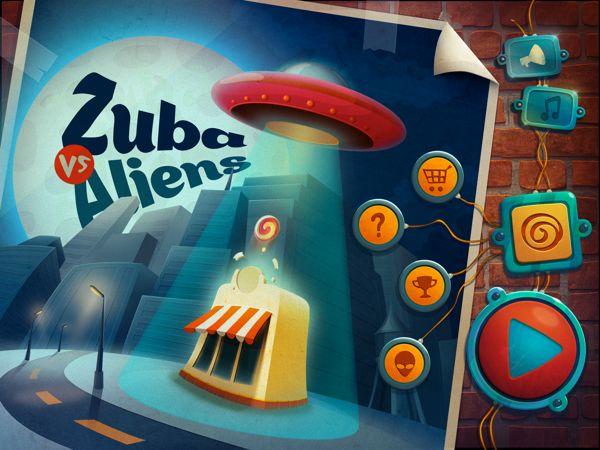 Illustrations for iOS games - summer 2012 by Vasili Tkach, via Behance