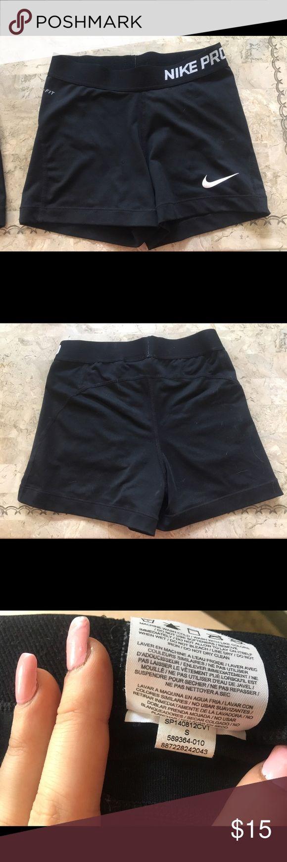 NIKE PRO SPANDEX Never worn size small Nike pro spandex! Nike Shorts