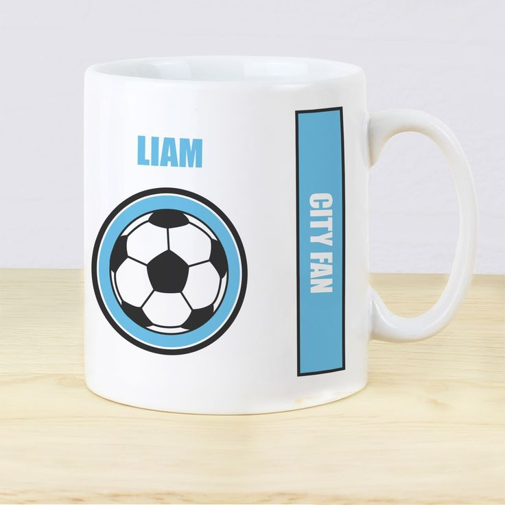 No one will steal your mug once it is personalised!