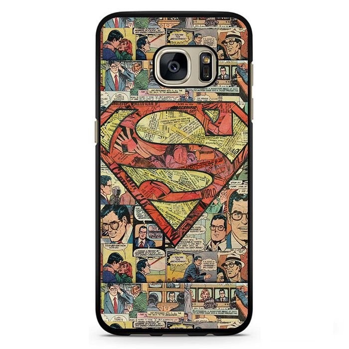 Superman Superhero Comic Book Phonecase Cover Case For Samsung Galaxy S3 Samsung…