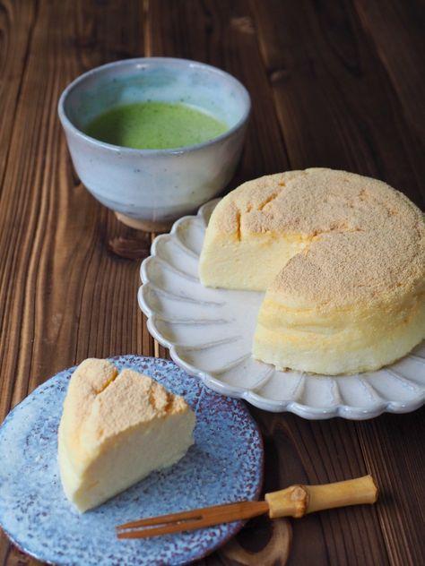 瞬溶け!お豆腐チーズケーキ by 小林 睦美(きゃらきゃら) / 材料4つで超簡単!瞬溶けシリーズ生スフレチーズケーキの、お豆腐を使ったヘルシーバージョンです。 / Nadia