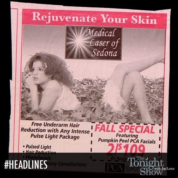 So flexible! #Headlines