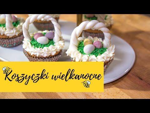 Babeczki Wielkanocne Koszyczki Z Kremem Cytrynowym Słodka