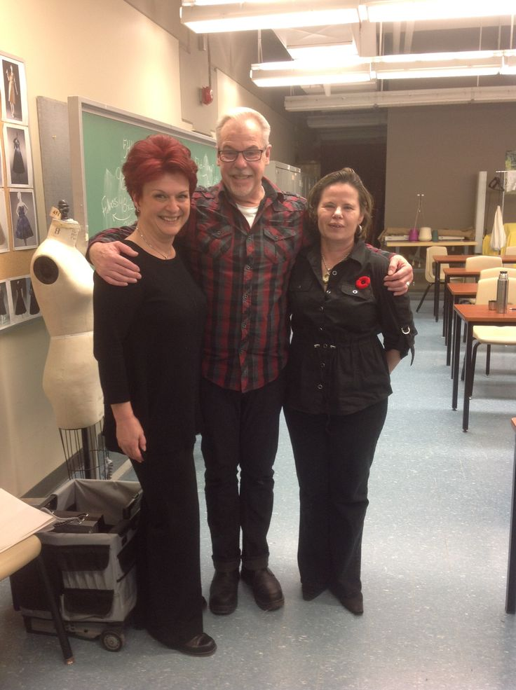 Dona And Laura With The Students At George Brown College Studying Interior Design