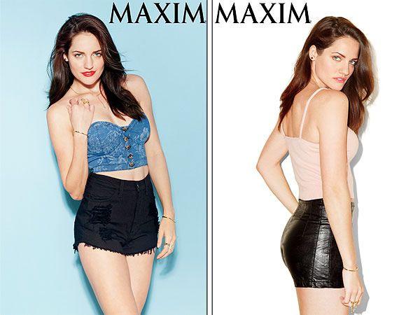 Kate Stoltzfus: 'Breaking Amish' Star Bares Midriff In 'Maxim'Magazine