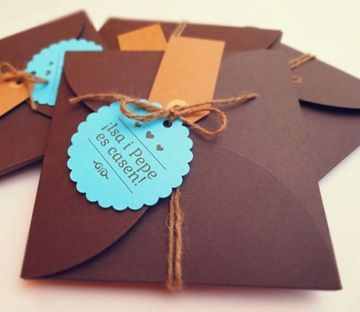 handmade wedding invitations - Google Search