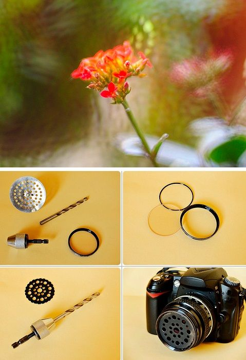 How To Build A Soft Focus Filter From A Sink Drainer