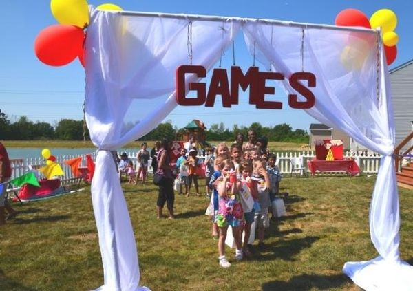 backyard carnival with games by tameka 2015 project pinterest