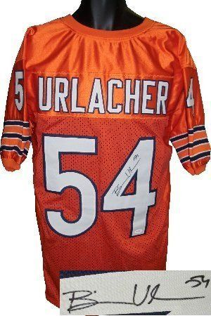 Brian Urlacher Autographed Hand Signed Chicago Bears Orange Prostyle Jersey-  JSA Hologram by Hall of Fame Memorabilia.  168.95. a17457125