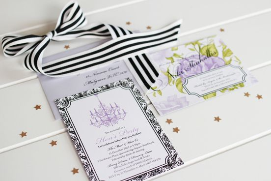 Hens + Kitchen Tea | Starry Night Paperie