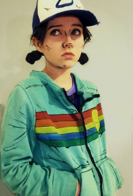.Perfect Clementine cosplay!